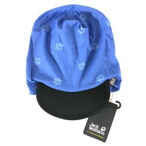 Jack Wolfskin Kids Beanie Headgear Hat Paw Prints